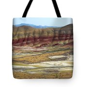 Painted Hills View From Overlook Tote Bag