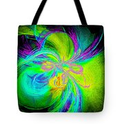 Painted Illusion Tote Bag