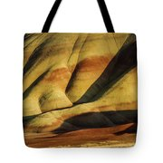 Painted In Gold Tote Bag