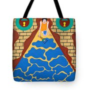 Painted Into A Corner Tote Bag