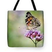 Painted Lady Tote Bag