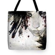 Painted Lady Tote Bag