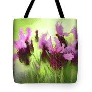 Painted Lavender By Kaye Menner Tote Bag