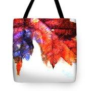 Painted Leaf Series 4 Tote Bag