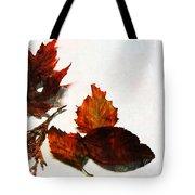 Painted Leaf Series 5 Tote Bag