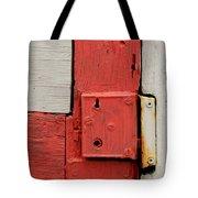 Painted Lock Tote Bag