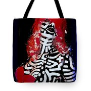 Painted Penny Tote Bag