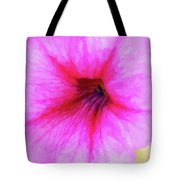 Painted Petunia 344 Tote Bag
