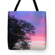 Painted Pink Sky Tote Bag