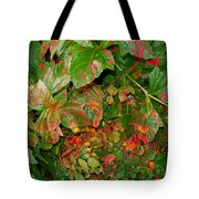 Painted Plants Tote Bag