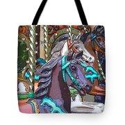 Painted Ponies Tote Bag