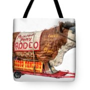 Painted Pony Rodeo Lake George Tote Bag