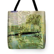 Painted Reflections Tote Bag