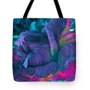 Painted Silk Tote Bag