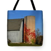 Painted Silo Tote Bag