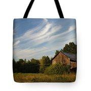 Painted Sky Barn Tote Bag