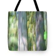 Painted Streaked Trees Tote Bag