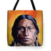 Painted Tears Tote Bag