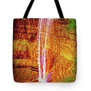 Painted Tews Falls					 Tote Bag