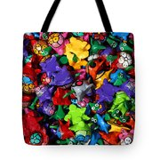 Painted Toys Tote Bag
