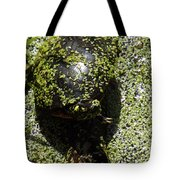 Painted Turtle Camouflague Tote Bag