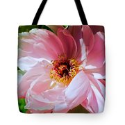 Painted Velvet Petals Tote Bag