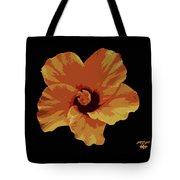 Painter Hibiscus Tote Bag