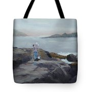 Painter Of The Sea - Art By Bill Tomsa Tote Bag