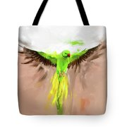 Painting 661 1 Bird 8 Tote Bag