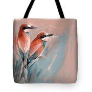 Painting 662 2 Bird 9 Tote Bag