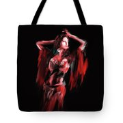 Painting 703 3 Dancer 8 Tote Bag