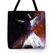 Painting 716 2 Sufi Whirl 2 Tote Bag