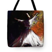 Painting 716 3 Sufi Whirl 2 Tote Bag