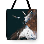 Painting 716 4 Sufi Whirl 2 Tote Bag