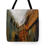 Painting 791 4 Wooden Architecture Tote Bag
