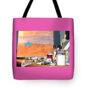 Painting Day Tote Bag