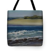 Painting Happy Valley Caloundra Qld Plein Air Painting Tote Bag