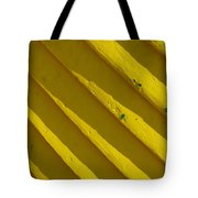 Painting It Yellow Tote Bag