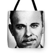 Painting Of John Dillinger Mug Shot Tote Bag