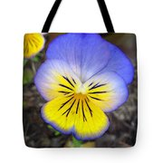 Painting Of Pansey Flower Tote Bag
