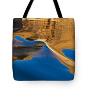 Painting On Water Tote Bag