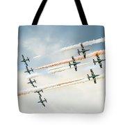 Painting The Skies Tote Bag