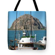 Painting The Trudy S Morro Bay Tote Bag