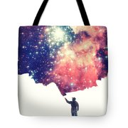 Painting The Universe Awsome Space Art Design Tote Bag