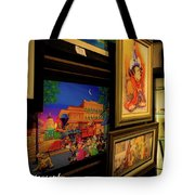 Paintings Collage Tote Bag