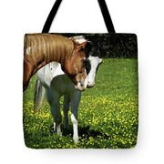Paints And Buttercups Tote Bag