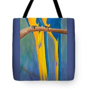 Pair Of Blue And Gold Macaws Tote Bag
