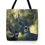 Pair Of Bucks Tote Bag