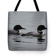 Pair Of Loons Tote Bag