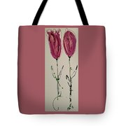 Pair Of Pinks Tote Bag